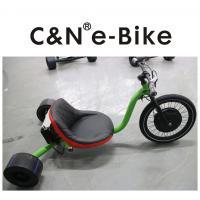 Electric Motor Three Wheel Drift Trike Big Front Wheel For Kids / Adults