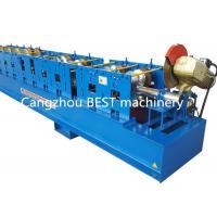 High Standard Steel Downspout Rain Water Gutter Rolling Forming Machine 3 kw Power