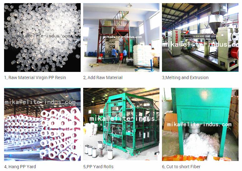 Micro Macro Synthetic Concrete Reinforcement Fiber