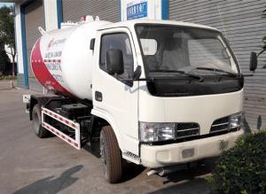 China 4x2 5M3 2.5 Tons Bobtail LPG Truck 5000L 2.5T Liquefied Petroleum Gas Propane on sale