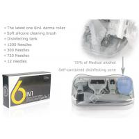 6in 1 DRS Dermaroller Kit With 12/300/720/1200 Needles Derma Meso Therapy System Microneedling Roller