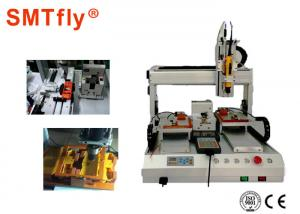 China PLC Control System Screw Tightening Machine ±0.02mm Precision SMTfly-LS1B on sale