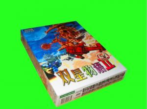 China Playing game cards package colorful paper box on sale