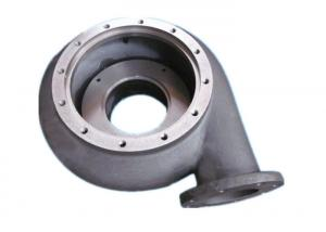 China Malleable Ductile Cast Iron Sand Casting Pump Parts Casting Impeller on sale