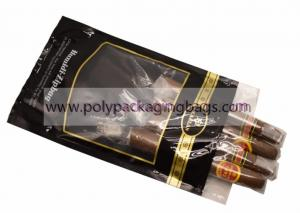 China 0.08mm OPP Laminated Cigar Humidor Bags With Humidified System Inside Sponge wholesale