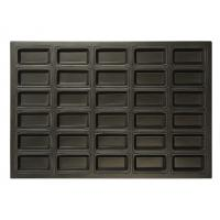 China Non - Stick Rectangular Bread Baking Pan Silicone 30 Indents For Cake Baking on sale