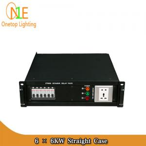 China 6 × 6KW Straight Box 6CH stage power distribution box/stage equipment Stage Light on sale