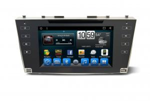 China Car Multimedia Kitkat Systems Toyota android car multimedia Camry Aurion 2007-2011 on sale