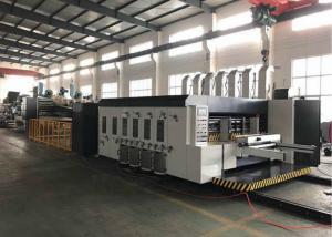 China QHFFG-200-920 Lead edge feede Flexo Printer Slotter Die Cutter with Folder Gluer  in-line carton box making machine on sale