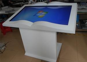 China 500G AV Output Information Kiosk Touch Screen Advertising Player Multi Media Display on sale