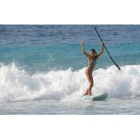 Portable Sport Equipment Inflatable Standing Paddle Board , Inflatable Race Sup