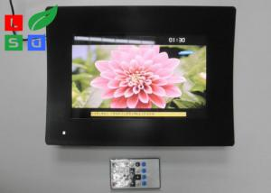 China Temperature Glass Face LCD Digital Signage , Resolution 1024x600 LCD Advertising Player on sale