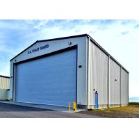 China Gable Style Military Steel Structure Aircraft Hangar Prefabricated Steel Structure on sale