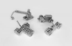 Kellin Neodymium Magnetic Balls 216 pcs Pyramid Shaped 5mm