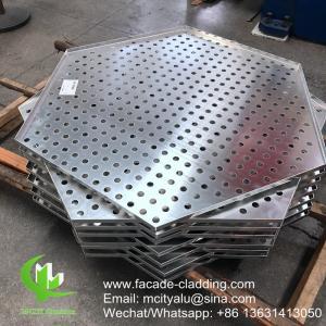 3mm Powder coated Metal aluminium perforated panel cladding