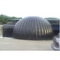 Giant Gray Inflatable Party Tent For Outdoor Activity , Backyard Wedding Tent