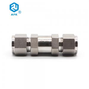 China Stainless Steel High Pressure Gas Check Valve for Compressed Air on sale