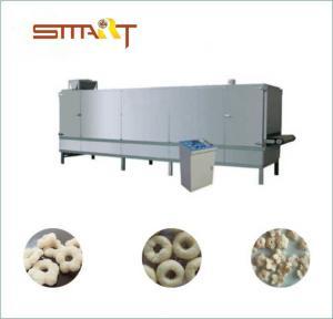 China 300-500Kg / Hr Snack Food Extruder Machine , Corn Snacks Making Machine on sale