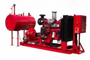 China 160PSI Fire Fighting Water Pump , Diesel Powered Fire Pump 2500GPM 1800RPM on sale