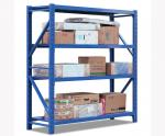4 Layer Strong Warehouse Storage Shelves Waterproof OEM / ODM Acceptable