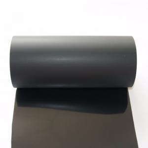 China Black PET Surface Protection Film For Building Material / Carpet Moisture Proof on sale