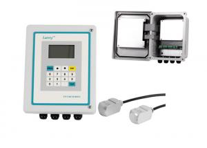China Chemical Clamp On Ultrasonic Flow Meter With Non Invasive Transducers on sale