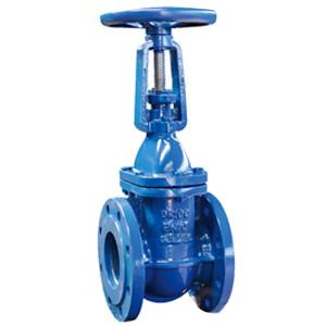 China China DIN 3352 F4 Rising Stem Solid Wedge Gate Valves on sale
