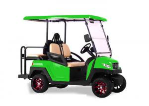 China Green Color Multi Passenger Golf Carts , High End 4 Seater Electric Golf Buggy on sale