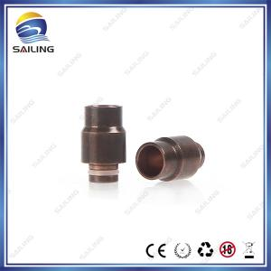 China Wide Bore Copper Drip Tips  Fully Oxidated Drp Ttips from China Supplier on sale