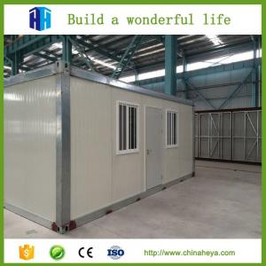 China Finished foldable modular steel frame container beach villa made in China on sale