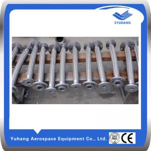 China Flexible flange connecting metal hoses,metal corrugated pipe on sale