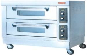 China FDX-24BQ 380V 50Hz 2 Layer 4tray Electric Baking Ovens 12KW for West Food Kitchen on sale