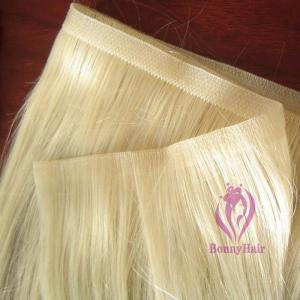 China 100% Remy Hair Skin Weft on sale
