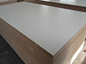 Factory of MDF BOARD Furniture grade melamine faced mdf manufacturer