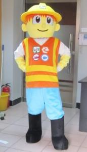 Quality Lovely bob the builder Cartoon mascot costumes with good ventilation for sale