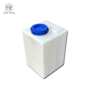 China 16 Gallon Heavy Duty Chemical Dosing Tank 6mm Thicker For Chemical Chlorides Acid on sale