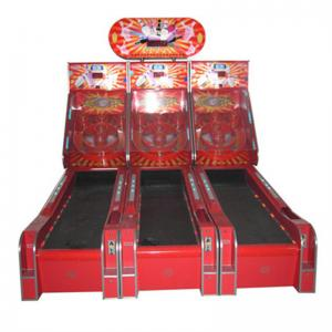China Children size bowling game 3 lines kids fun indoor playground redemption game machine on sale