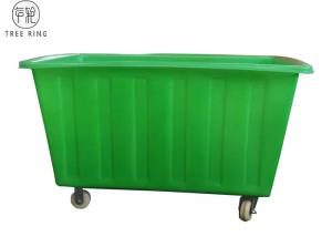 China Rotomolded Poly Box Truck , Elevated Raised Growing Laundry Cart Plastic For Planter on sale