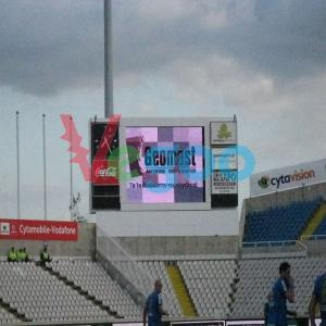 China Remote Control P1.667 HD LED Display Led Stadium Advertising Boards 200mm×150mm×8mm on sale