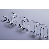 China Transparent Acrylic Engraved Letters for Decoration on sale
