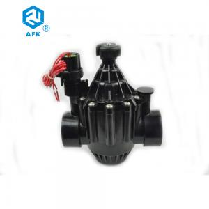 China DN40 Irrigation Solenoid Valve 40mm 1.5 Inch Below 43°C BSP Female Threaded on sale