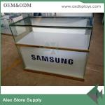 China SAMSUNG mobile phone showcase glass display counter display showcase wholesale