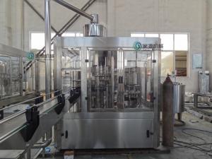 China PET Bottle Beverage Filling Line , Hot Filling Machine For Juice Aseptic on sale