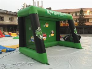 China 0.6mm PVC Tarpaulin Inflatable Sports Games , Blow Up Soccer Goal For Fun on sale