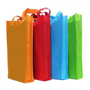 China Promotional Go Shopping PP Non-woven Tote Bag Wholesale Custom Logo, Best Nonwoven Shopping Bag on sale