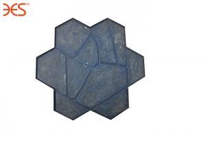China Shale Slate Black Concrete Floor Stamp Patterns Molds For Embossed Artist Garden on sale