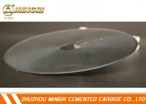 China Tungsten Carbide Disc Cutter Carbide cutting blades For cigarette filter,rubbers etc on sale