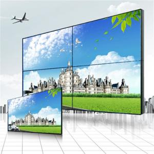 China High Definition Wall Mount 4 Screen LCD Video Wall Super Wide Visual Angle on sale