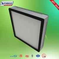 Pleated Panel Air Conditioning Air Filters Clean Room Ventilation System