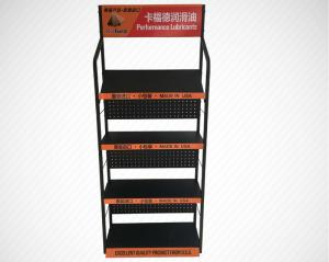 China Strong Enough Retail Display Stands / Metal Display Racks For Grocery Store on sale